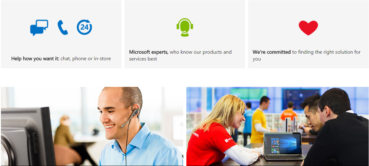 Microsoft AnswerDesk