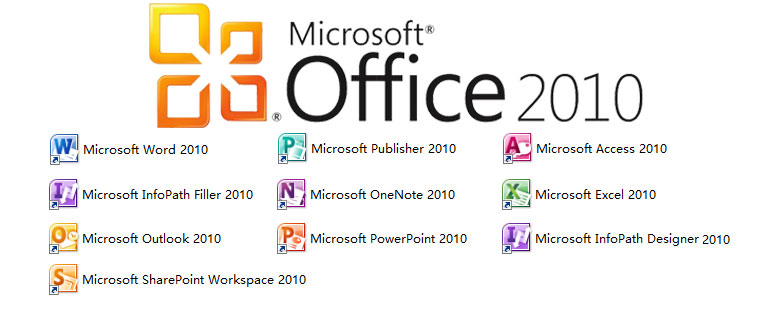 Office 2010 アプリ