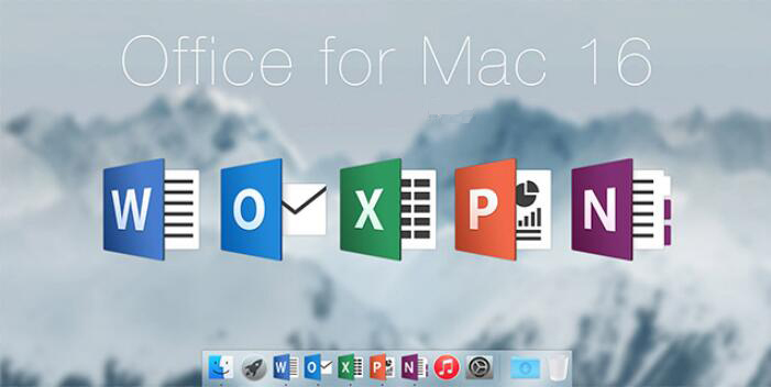 new Office 2016 for Mac